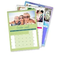 5 x A3 Portrait Personalised Calendar incl Delivery