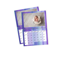 2 x A4 Double Personalised Calendar incl Delivery